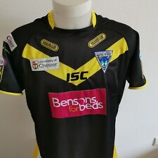 superbe maillot de rugby  warrington wolves  marque ISC taille L RuGBY 13
