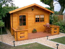 Cabin kit 300sq/ft 13'x 23' Wooden Guest, Pool, Garden Tiny House