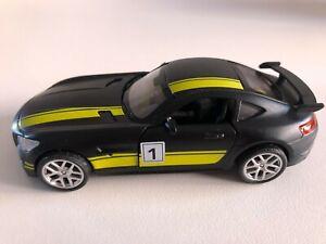 Black 1:36 Mercedes AMG Car Model Alloy Diecast Toy Vehicle Black Gift Kids.