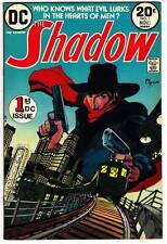 THE SHADOW #1 - DC Comics 1973 - Mike Kaluta - pulp hero - Very Fine condition