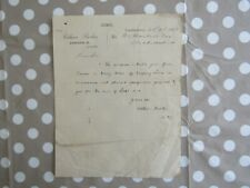 Antique Irish document Estimate - Colhoun Brothers - Londonderry 1887