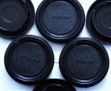 3 X Nikon Old style Body Caps for All Nikon DSLR/SLR/FILM Cameras. U.S.A. ship!