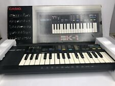 Vintage Casio SK-1 Sampling Keyboard with Box Tested Working Great