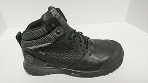 Timberland PRO Reaxion Composite Toe Work Boots, Black, Men's 8 M