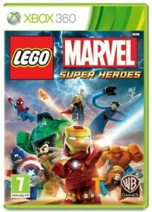 LEGO Marvel Super Heroes Xbox 360 game DISC ONLY UK PAL