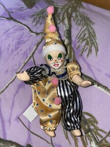 "6"" Ganz Porcelain Clown Doll"
