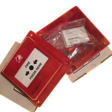 2 x Waterproof Manual Call Point Fire Emergency Alarm Red IP67 MCP + Backbox new