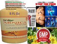 Arnica Montana Salve PAIN RELIEF, Headaches, Arthritis, pain No Chemicals 8 oz.
