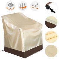 1/4Pcs Waterproof Outdoor High Back Chair Cover Yard Patio Furniture  UK! AU