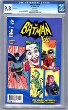 BATMAN '66 #1 CGC 9.8 *RARE RETRO VARIANT COVER* CLASSIC 1960'S TV SERIES 2013