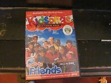 Kidsongs DVD Let's Be Friends with case