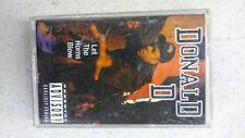 RARE OOP Donald D CASSETTE TAPE Let the Horns Blow B-Boys rap DJ Aladdin