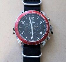 Shinola Rambler S0120007928 Watch With 44mm Black Face Black Nylon Strap