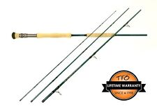 "NEW $350 TFO BLUEWATER HEAVY DUTY 8' 6"" #16+ WEIGHT FLY ROD +BAG--CLOSEOUT!"