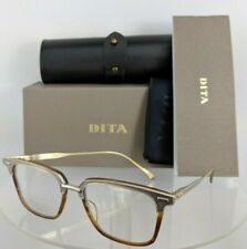 Brand New Authentic Dita Eyeglasses OAK DRX-2085-A-AMB-GLD 52mm Frame