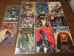 RARE lot of ALIENS & PREDATOR comic books by DARK HORSE HIVE ROGUE 086
