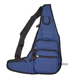 Mens Womens Sling Bag Chest Shoulder Backpack Fanny Pack Crossbody Travel Sport1