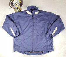 Forresters Mens Lg CONVERTIBLE Golf Jacket Vest Stormtex Waterproof Blue