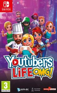 Youtubers Life OMG! Nintendo Switch ~ BRAND NEW SEALED ~