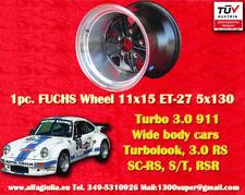 1 Cerchio Porsche Fuchs 911 11x15 ET-27 1 stk. Felge Wheel TUV jante llanta