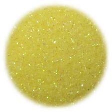 Giallo Brillante, Lustrini, Glimmer, Polvere, Nail Art, Polvere Con Brillantini