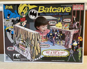 Figures Toy Co. Vintage Style Batcave DC Comics 2015 New in Box