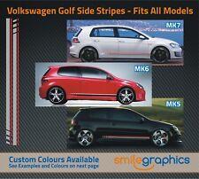 VW Golf Beats Raya Kit Stickers DECALS-se adapta a todos los otros colores disponibles