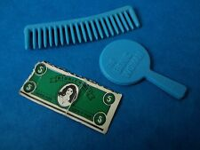 Vintage Toy Parts - BIONIC WOMAN - MIRROR & COMB - From Mission Purse