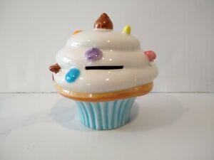 Ceramic Cupcake Piggy Bank