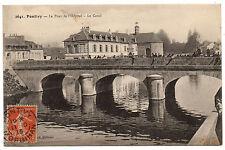 CPA 56 - PONTIVY (Morbihan) -2641. Le Pont de l'Hôpital. Le Canal