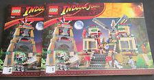 LEGO Indiana Jones Bauanleitung 7627 Tempel des Kristallschädels