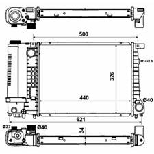 Kühler Motorkühlung - NRF 53426