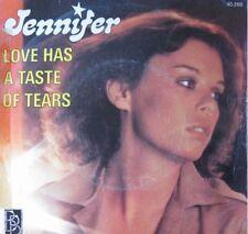 "JENNIFER love has a taste of tears SP45T 7"" 1977 RARE++"