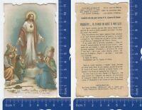 Salvator del mondo, abbiate pietà di noi - Holy Card con preghiera -1915- 28134