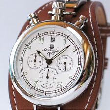 German Aeromatic RETRO Aviator CHRONOGRAPH A1236