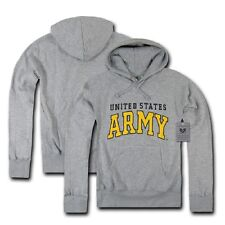 Rapdom US Army Strong Logo Grey Military Jumper Hoodie Hoody Grey XXL