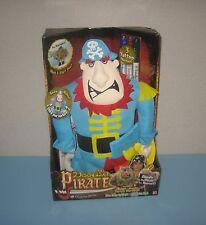 """New 2007 Play Along Toys 15"""" Doodle Pirates Cap'n Pegleg Plush Doodle Bear Pal"""