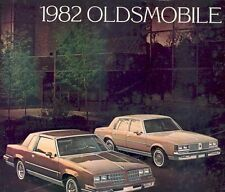1982 Oldsmobile Cutlass Sales Brochure mw3940-VMEHET