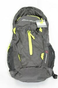 """NEW"" Eddie Bauer Unisex-Adult Stowaway Packable 20L Daypack, Black Regular SZ"
