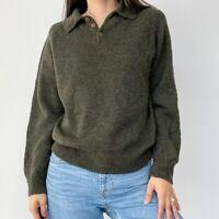 Vintage Giorgio Armani Collezioni Wool Green Pullover Sweater Unisex