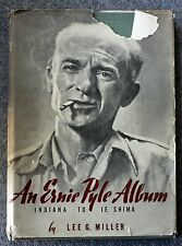1946 AN ERNIE PYLE ALBUM Indiana Ie Shima LEE MILLER First Printing MILITARY