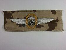 Bundeswehr Tätigkeitsabzeichen Fallschirmspringer Gold auf wüstentarn / Para