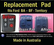 fits FORD Falcon BA Territory Remote - Replacement Silicone  key Buttons Pad