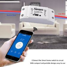 Sonoff WiFi Wireless Switch Module Socket Timer ABS Shell Remote For DIY Home