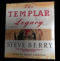 The Templar Legacy Bk. 1 by Steve Berry (2007, CD, Abridged) AS NEW
