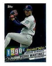 2020 TOPPS PEDRO MARTINEZ DECADES BEST 90'S CHROME (TIN EXCLUSIVE) PACK FRESH!