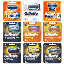 GILLETTE FUSION5 PROGLIDE Proshield POWER Chill sensitive 100% GENUINE UK STk