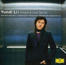 Yundi Li - Chopin & Liszt Recital Yundi Li [New CD] Germany - Import