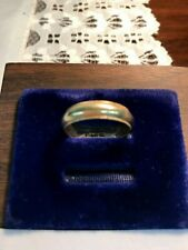 Yellow Gold/ No Stones/ Fine Jewelry Classic Man's Wedding Band/ 14 Karat