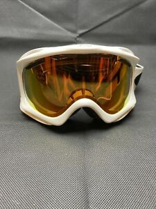 White Oakley Snow Goggles